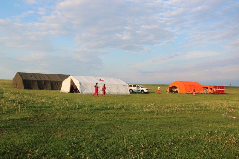 První cvičení 2012 - letiště Hosín